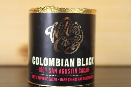 Willie's Cacao Colombian Black Los Llanos 180g Pantry > Confectionery