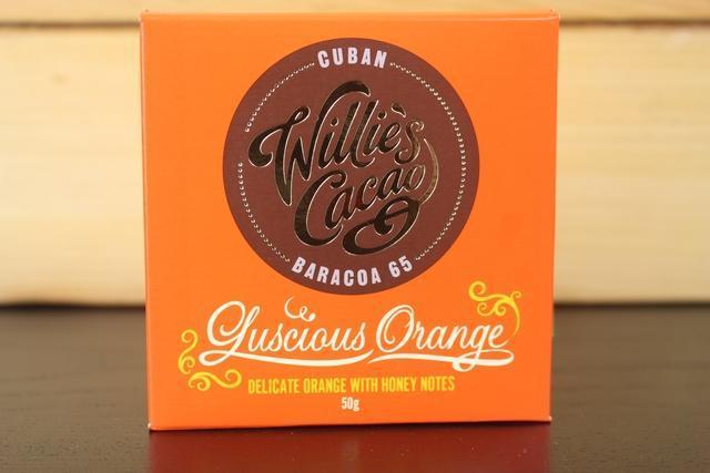 Willie's Cacao Cuban 65 Luscious Orange Choco 50g Pantry > Confectionery