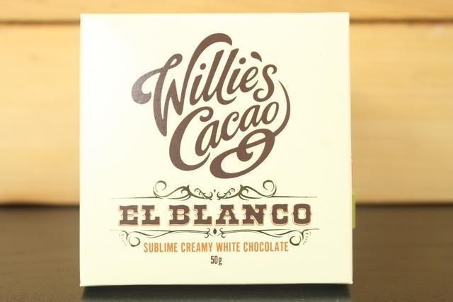Willie's Cacao El Blanco White Choco 50g Pantry > Confectionery