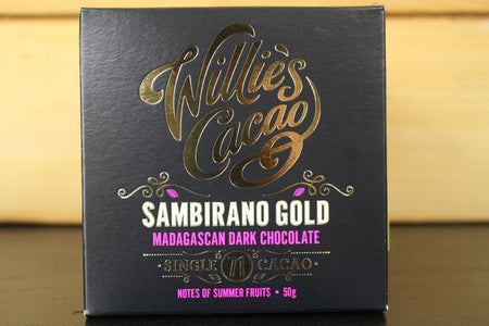 Willie's Cacao Madagascan Sambirano 71% Gold Dark Choco 50g Pantry > Confectionery