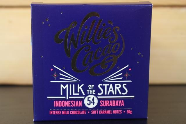 Willie's Cacao Milk Of The Stars, Surabaya 54 Milk Choco 50g Pantry > Confectionery