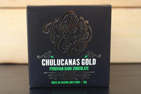 Willie's Cacao Peruvian Chulucanas 70% Gold Dark Choco 50g Pantry > Confectionery