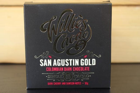 Willie's Cacao San Agustin 88 Gold Colombian 50g Pantry > Confectionery