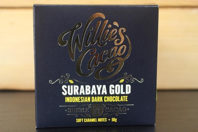 Willie's Cacao Surabaya 69% Gold Dark Choco 50g Pantry > Confectionery