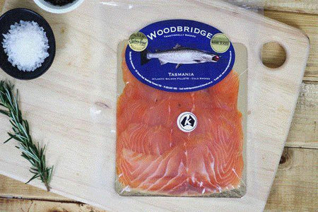 Woodbridge Smokehouse Cold Smoked Atlantic Salmon 200g* Seafood > Fish