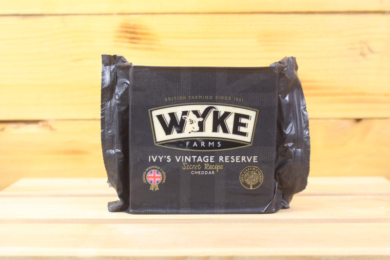 Wyke Ivy's Vintage Reserve Cheddar 200g Dairy & Eggs > Cheese