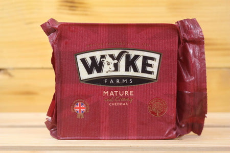 Wykes Wykes Mature Cheddar 200g Dairy & Eggs > Cheese
