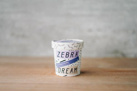 Zebra Organic Choc Peanut Butter Ice Cream 150ml Freezer > Ice Cream