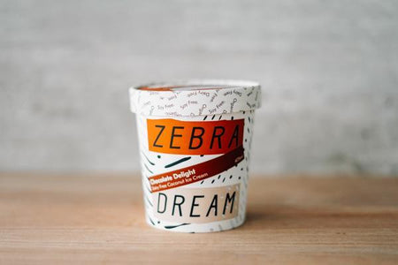 Zebra Organic Chocolate Delight Ice Cream 475ml Freezer > Ice Cream