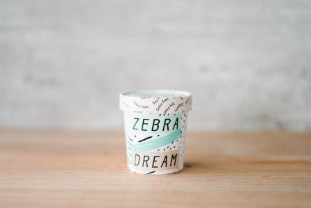 Zebra Organic Mint Choc Chip Ice Cream 150ml Freezer > Ice Cream