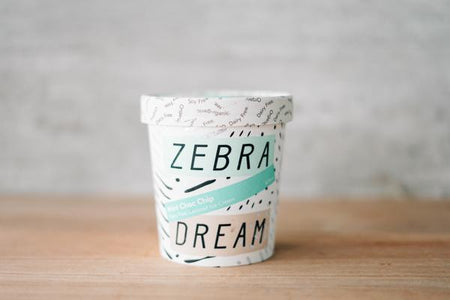 Zebra Organic Mint Choc Chip Ice Cream 475ml Freezer > Ice Cream
