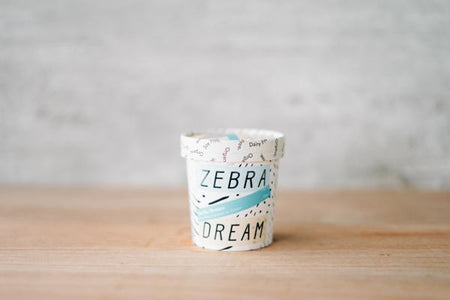Zebra Organic Vanilla Dream Ice Cream 150ml Freezer > Ice Cream