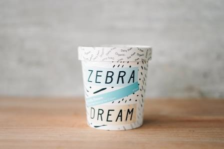 Zebra Organic Vanilla Dream Ice Cream 475ml Freezer > Ice Cream