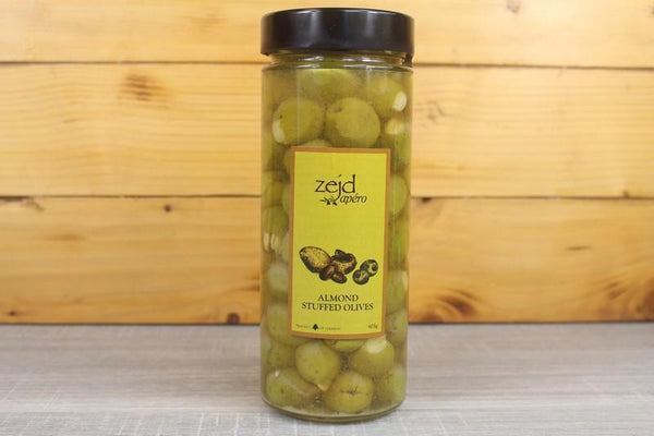 Zejd Almond Stuff Olives 605g Pantry > Antipasto, Pickles & Olives