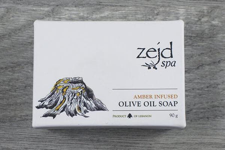 Zejd Amber Olive Oil Soap 90g Personal Goods > Soap