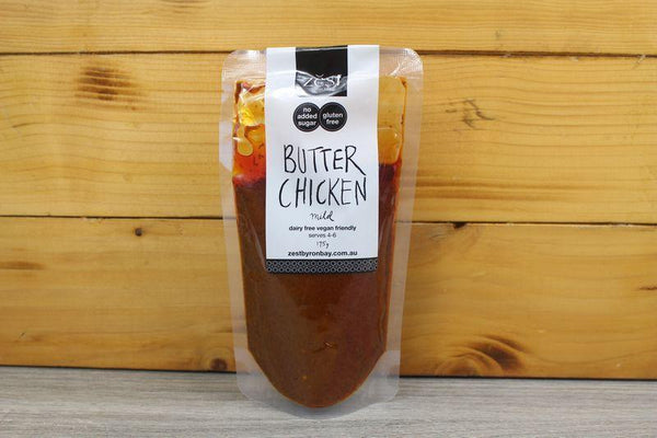 Zest Byron Bay Butter Chicken Recipe Base 175g Pantry > Condiments