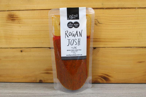 Zest Byron Bay Rogan Josh Recipe Base 175g Pantry > Condiments