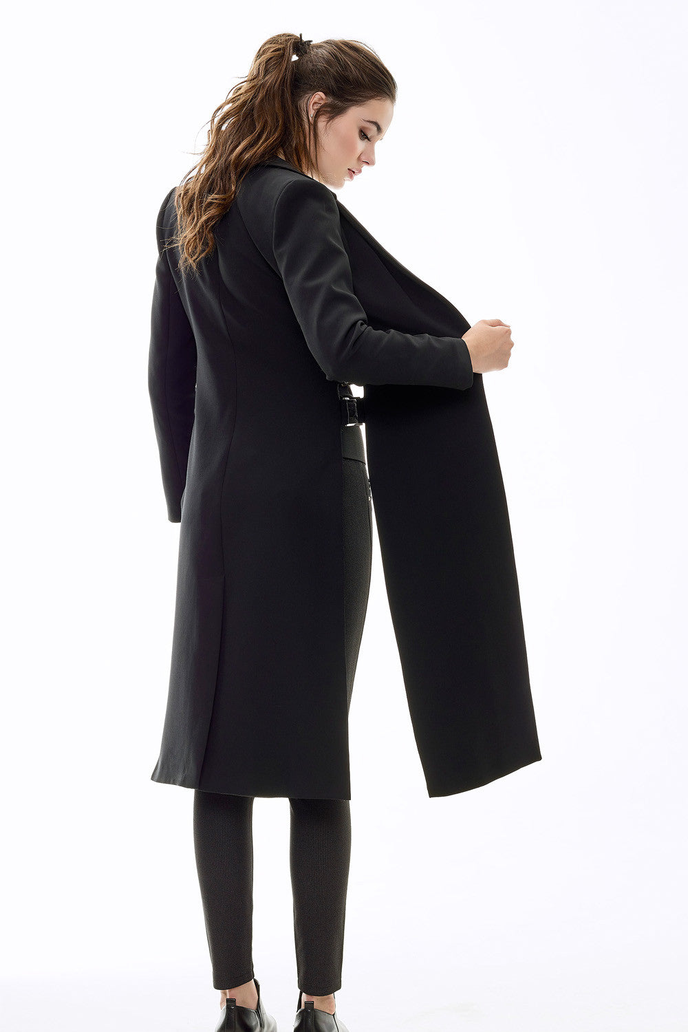 Buckle Black Coat