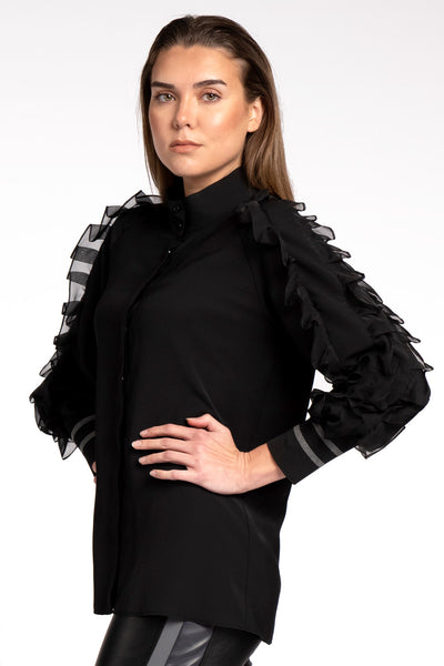 Fer Feri Black Blouse