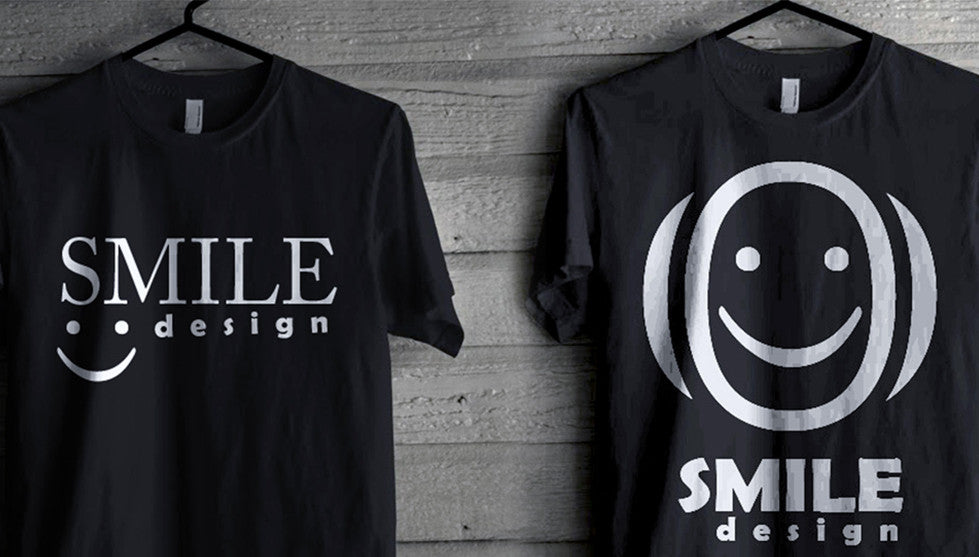 Smile design T-shart