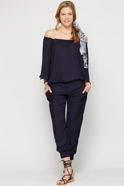 Deb Blouse Navy