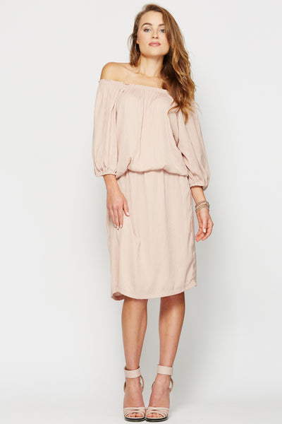Greta Dress Blush