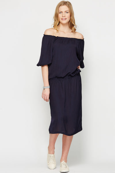 Greta Dress Navy