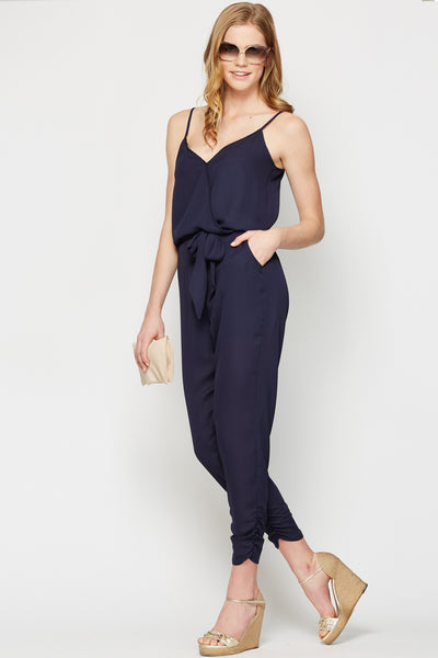 Jade Resort Jumpsuit in Navy