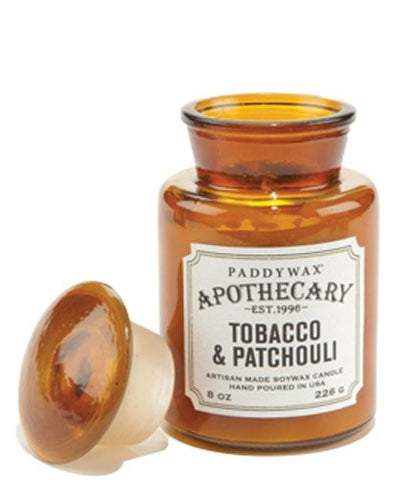 Tobacco and Patchouli Apothecary Candle