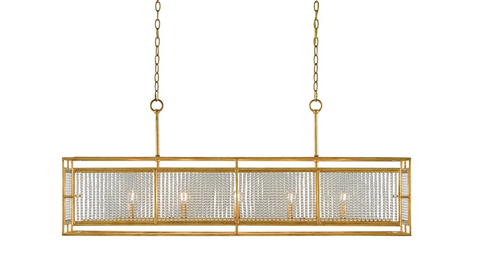 ADELLE RECTANGULAR CHANDELIER
