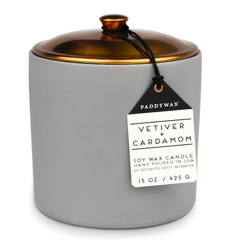 VETIVER & CARDAMOM HYGGE CERAMIC CANDLE