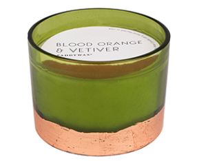 BLOOD ORANGE & VETIVER GILT CANDLE