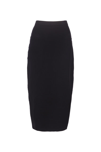 TUBE SKIRT - BLACK
