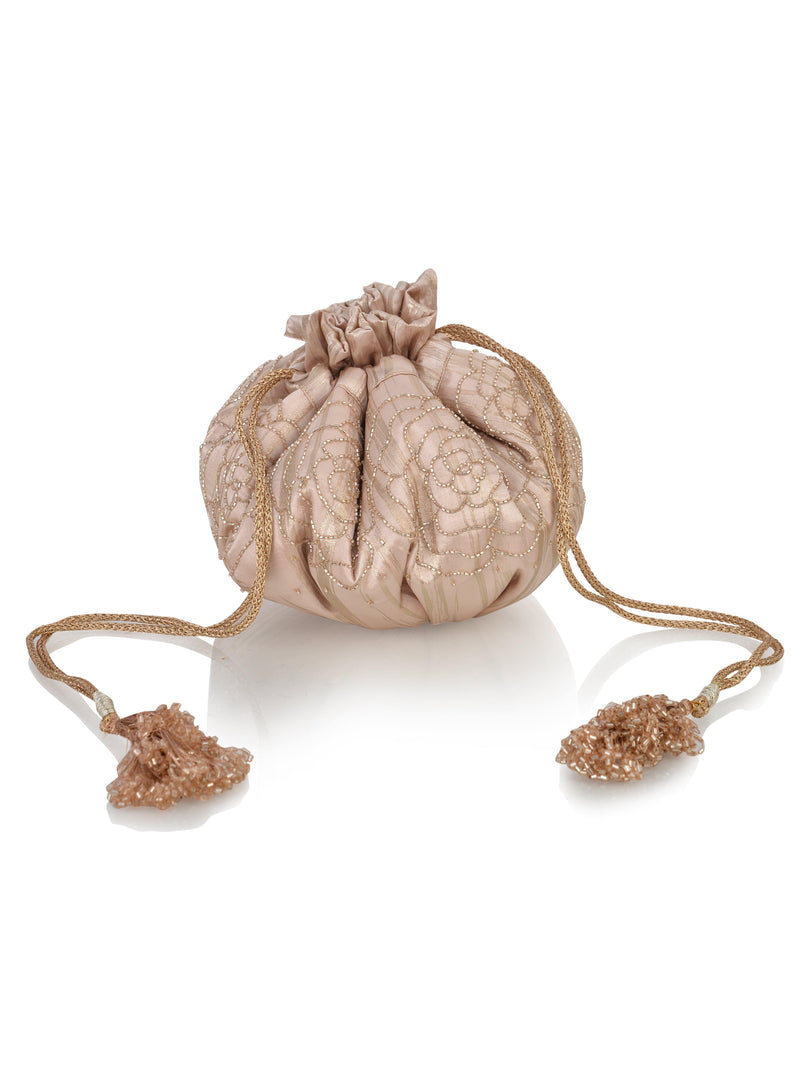 Amor Collection Rosé Potli Bag