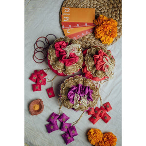 Traditional Gol Potli - Vyah Wedding Collection
