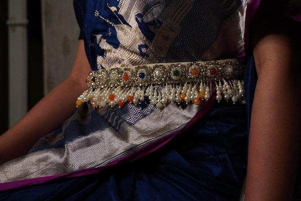 Navratan Hand Embroidered Belt