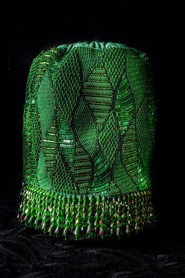 Medusa Green Bucket Bag - Ozel Bir Sey