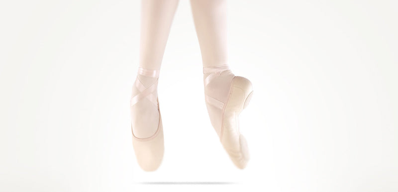Sewing Ribbons on MDM Ballet Shoes - Step By Step Instructions
