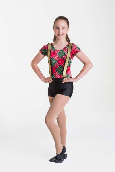 Tartan Biketard | Dancewear Nation Australia