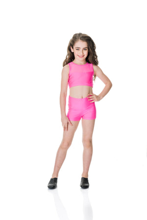 Studio 7 Mesh Crop Top (Adult) | Dancewear Nation Australia