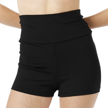 Capezio High Waisted Shorts (Adult)