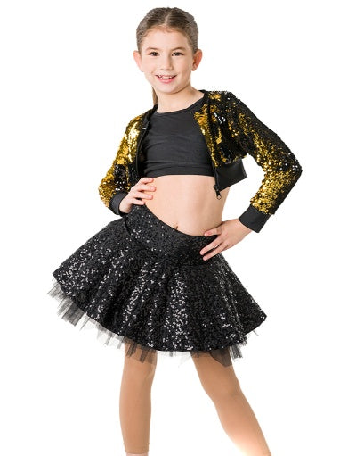 Stage Lights Cropped Jacket | Dancewear Nation Australia