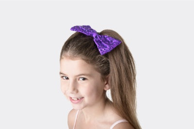 Sequin Hair Bow | Dancewear Nation Australia