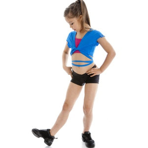 Energetiks V Band Hot Shorts (Child) | Dancewear Nation Australia