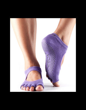 Toesox - Half Toe Bellarina Socks (Light Purple)