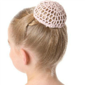 Satin Hair Bow on Comb