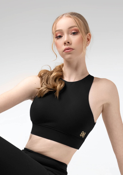 Uactiv Pauline Top - Black