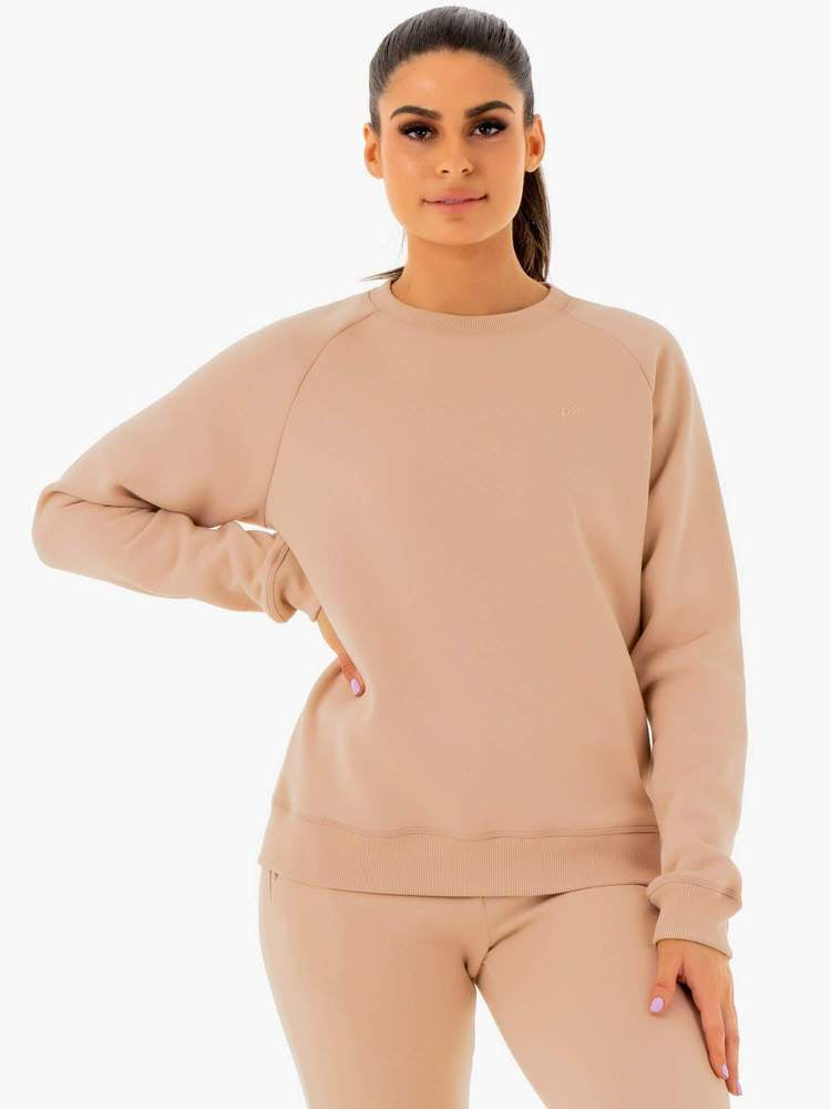 Ryderwear ADAPT Boyfriend Sweater - Nude (Adult)