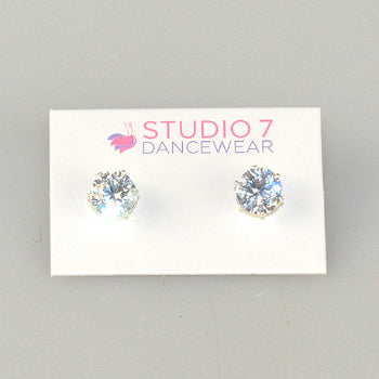 Diamente Stud Earrings | Dancewear Nation Australia