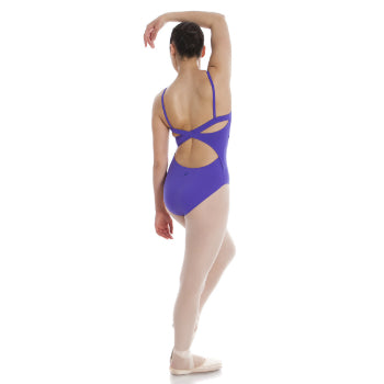 Cross Wrap-Back Camisole Leotard (Adult)